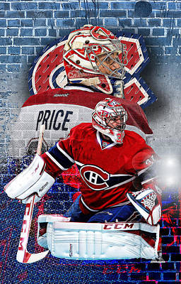 Canadiens Digital Art - Price Phone Cover 2 by Nicholas Legault