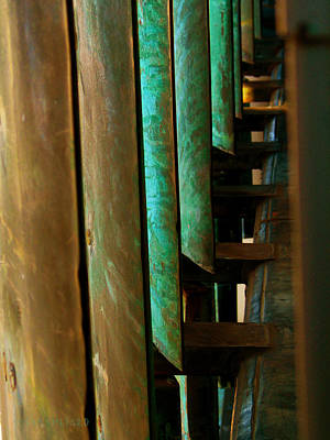 Photograph - Price Tower Copper Detail 2 by Susan Vineyard