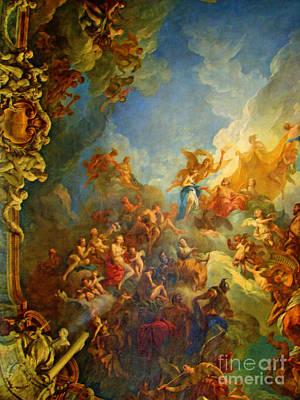 Studio Murals Photograph - Priceless Art In Versailles by Al Bourassa