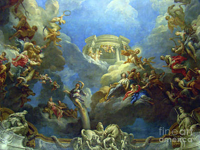 Priceless Art In Versailles II Art Print
