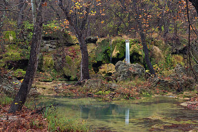 Photograph - Prices Falls Oklahoma by Katherine Worley