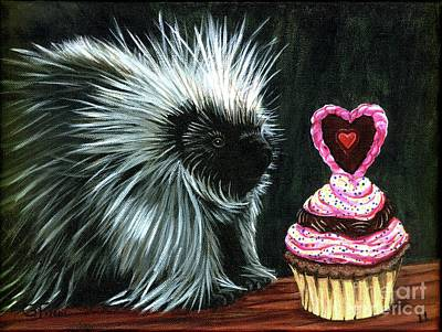 Painting - Prickentine by Gail Finn