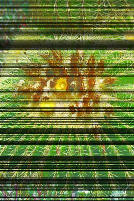 Digital Art - Prickly Floral  by Justin Hiatt
