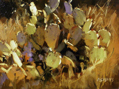 Prickly Pear Art Print by David Simons