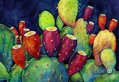 Royalty-Free and Rights-Managed Images - Prickly Pear by Hailey E Herrera