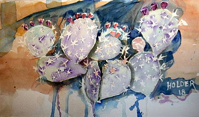 Painting - Prickly Pear by Steven Holder