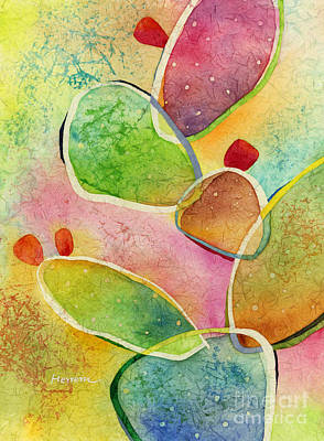 Prickly Pear Painting - Prickly Pizazz 1 by Hailey E Herrera