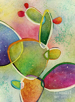 Prickly Pear Painting - Prickly Pizazz 2 by Hailey E Herrera