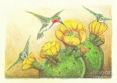 Prickly Punch Art Print