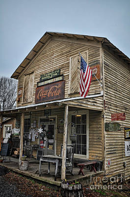 Photograph - Priddy's by Randy Rogers