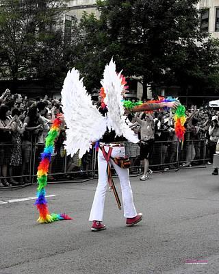 Pride Angel 21126 Art Print