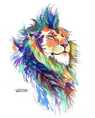 Mohawk Painting - Pride by Arleana Holtzmann