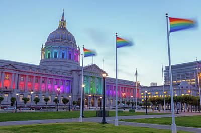 Photograph - Pride City 2 by Jonathan Nguyen
