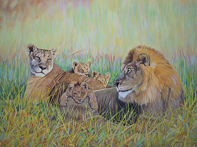 Painting - Pride Family  by Manuel Lopez
