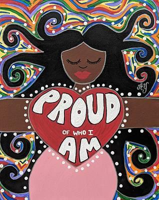 Painting - Pride Goddess by Angela Yarber