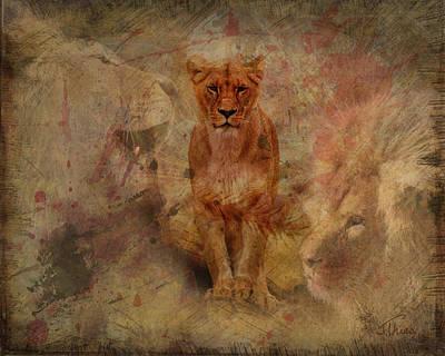 Sahara Mixed Media - Pride by Julie Thies