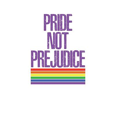 Drawing - Pride Not Prejudice by Heidi Hermes