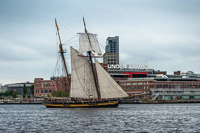 D700 Photograph - Pride Of Baltimore II by Jim Archer
