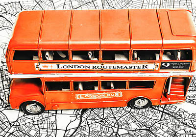 Bus Wall Art - Photograph - The Pride Of London by Jorgo Photography - Wall Art Gallery