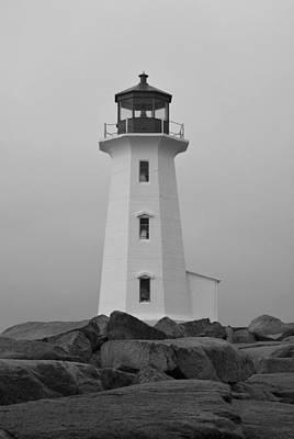 Photograph - Pride Of Nova Scotia B N W by Richard Andrews