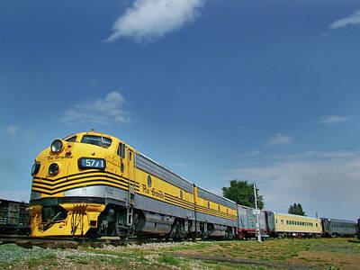 Colorado Railroad Museum Photograph - Pride Of The Passenger Fleet by Ken Smith