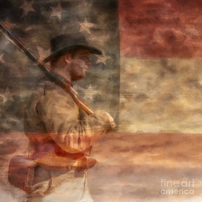The South Digital Art - Pride Of The South by Randy Steele