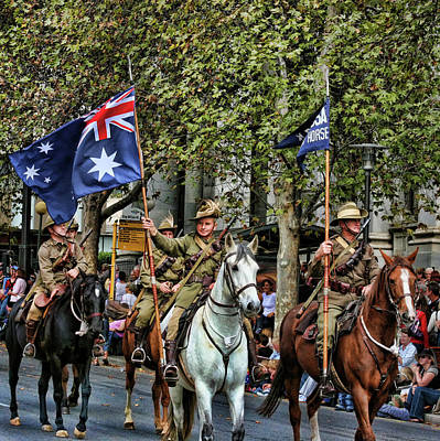 Anzac Photograph - Pride Of War And Peace by Douglas Barnard