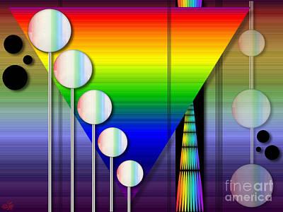 Geometric Art Digital Art - Pride Perspective by Sue Gardiner