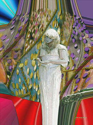 Digital Art - Pride Statue by Brian Gryphon