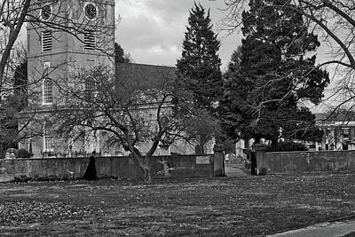 Photograph - Priest And Church by Victor Wiebe