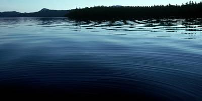 Photograph - Priest Lake Glass by Jerry Sodorff