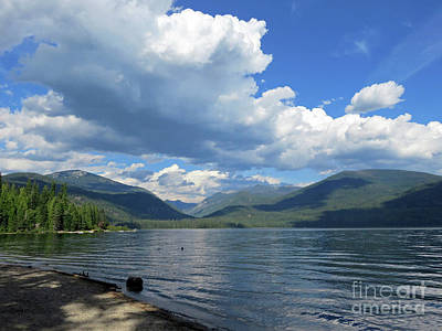 Photograph - Priest Lake Idaho by Cindy Murphy - NightVisions