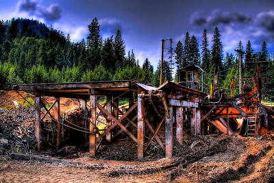 Photograph - Priest Lake Mill II by David Patterson