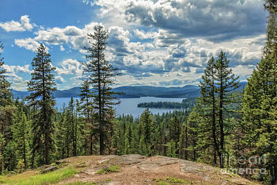Photograph - Priest Lake by Robert Bales