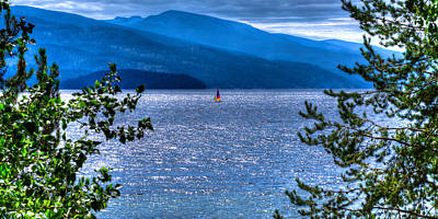 Photograph - Priest Lake Solitude by David Patterson