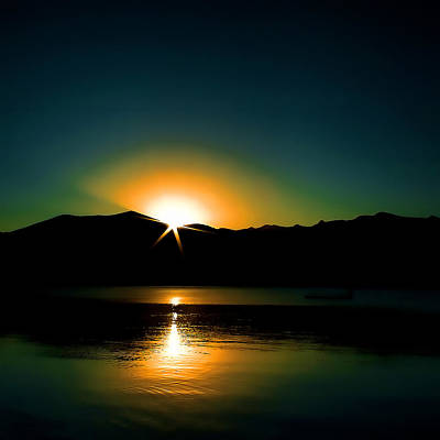 Photograph - Priest Lake Sunrise by David Patterson