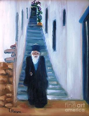 Priest Of Pothia Art Print by Therese Alcorn