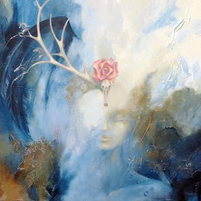 Painting - Priestess by Dina Dargo