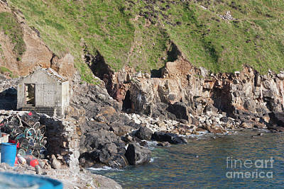 Photograph - Priest's Cove Caves by Terri Waters