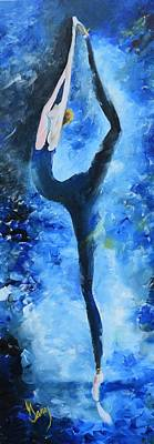 Painting - Prima Ballerina #1 by Gary Smith