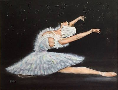 Painting - Prima Ballerina by Dr Pat Gehr