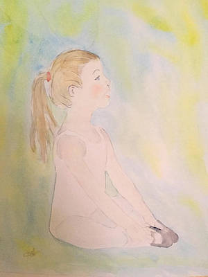 Youthful Painting - Prima Ballerina by Maura Satchell
