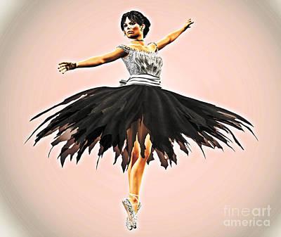 Prima Ballerina Photograph - Prima Donna by Methune Hively