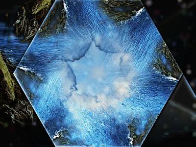 Digital Art - Primal Cave by Max DeBeeson