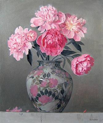 Painting - Primarily Pink by Robert Holden