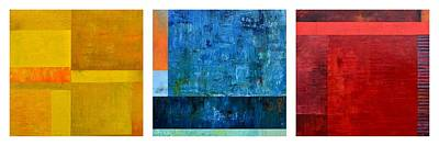 Art Print featuring the painting Primary - Artprize 2017 by Michelle Calkins