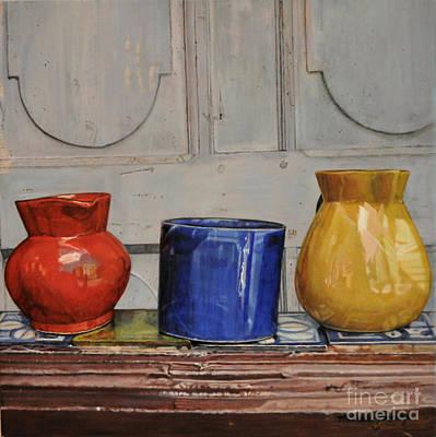 Primary Colors Art Print by Melinda Jennings
