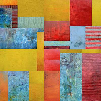 Painting - Primary Compilation 3.0 by Michelle Calkins