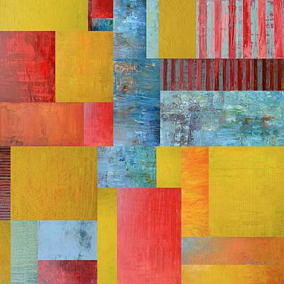 Compilation Painting - Primary Compilation 4.0 by Michelle Calkins