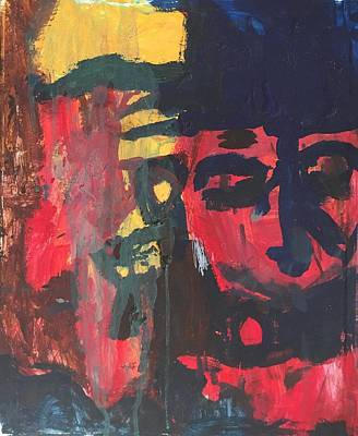 Painting - Primary Faces by Judith Redman